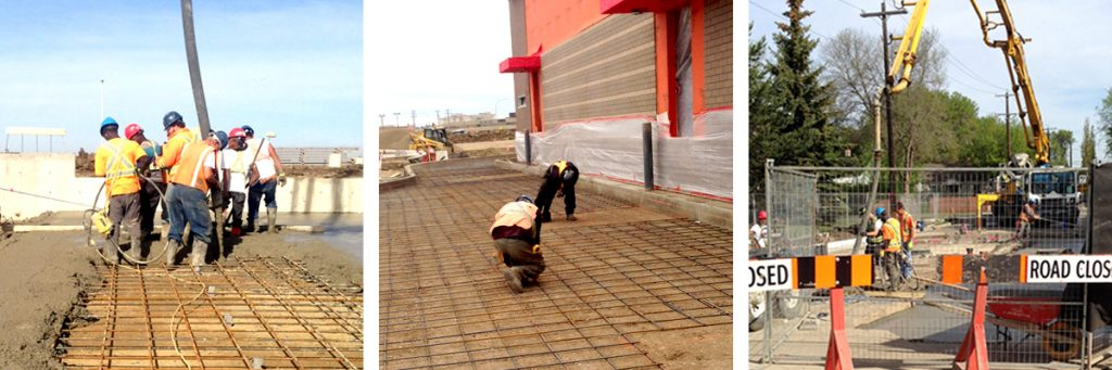 Concrete Forms Pouring Edmonton