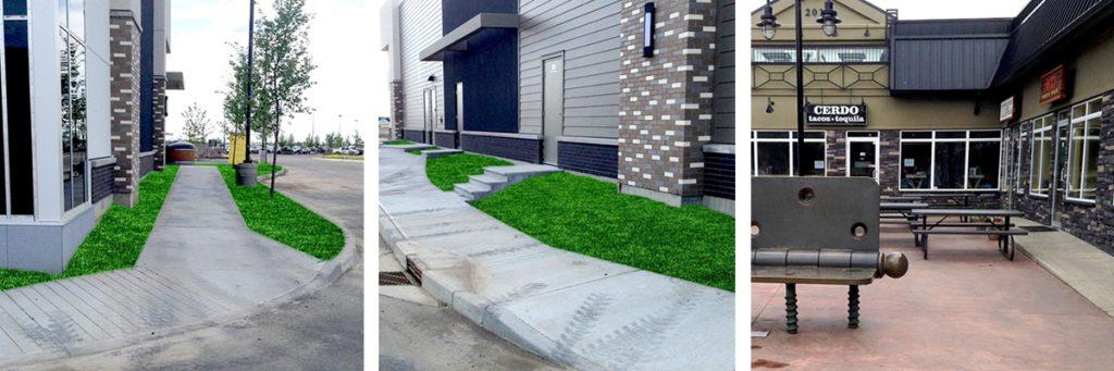 Concrete Sidewalk Patio Edmonton